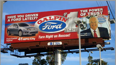 Galpin Motors Billboard by InkCentric