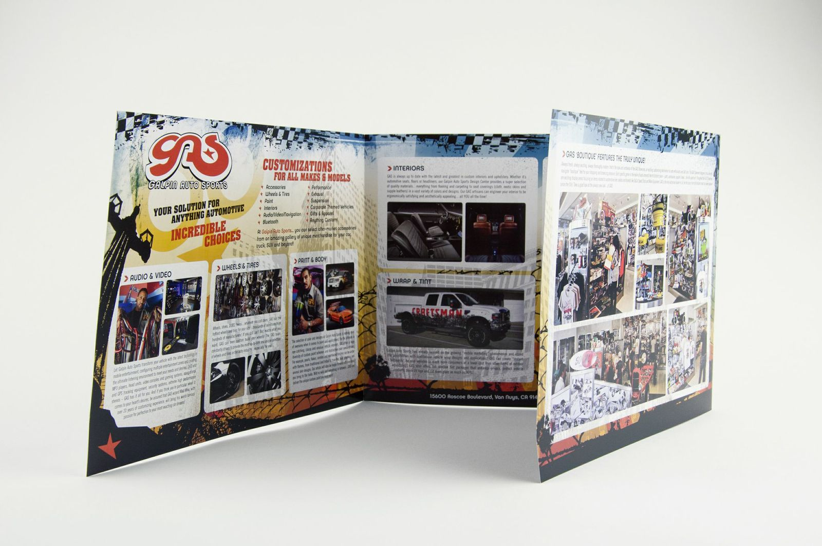 Galpin Auto Sports Promotional Printing by InkCentric