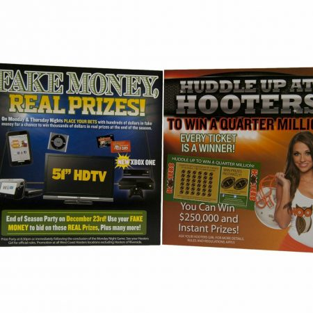 Hooters Printing by InkCentric