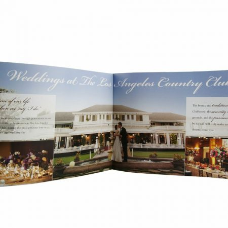 LA Country Club Brochure printed by InkCentric