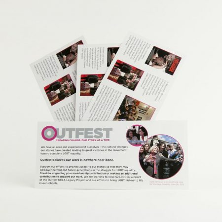 Outfest Printing By InkCentric