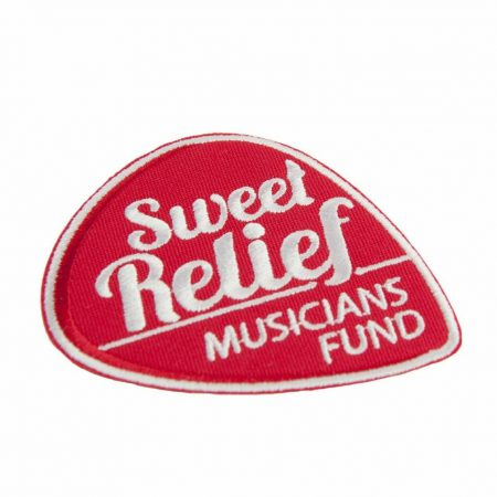 Sweet Relief Musician's Fund Patch by InkCentric