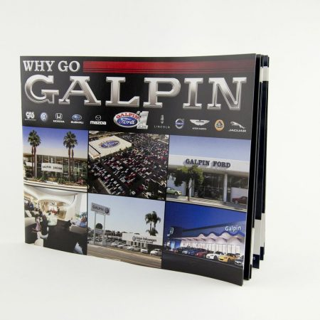 Galpin Motors Promotional Materials and Printing by InkCentric